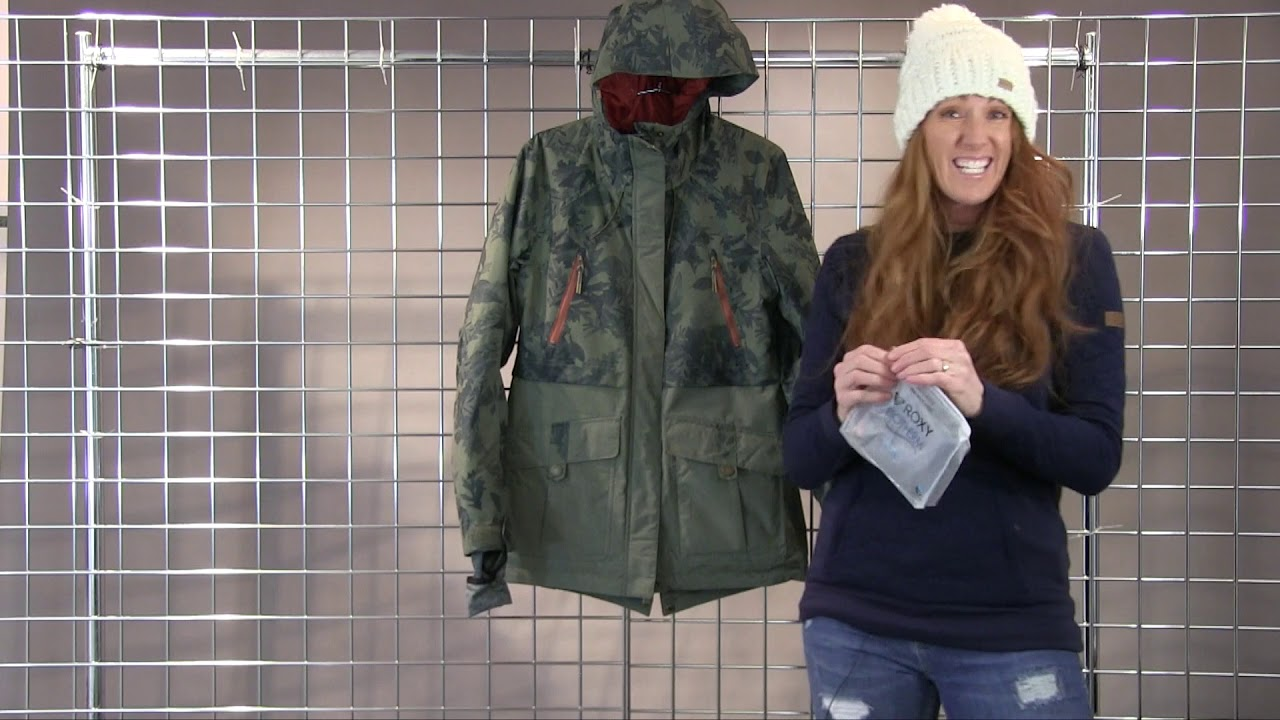 7843c5c380780 Roxy Women's Tribe Jacket 2017-2018 - YouTube
