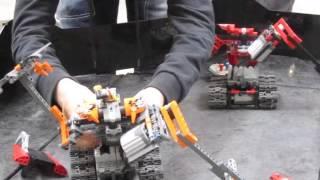LEGO Battle Robots. Hobby Expo.