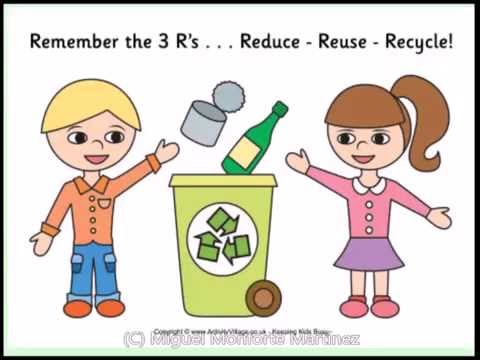 Science Lessons for Primary Education. Year 1-2. Recycling Materials