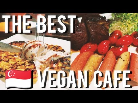 😍 THE BEST VEGAN CAFE IN SINGAPORE