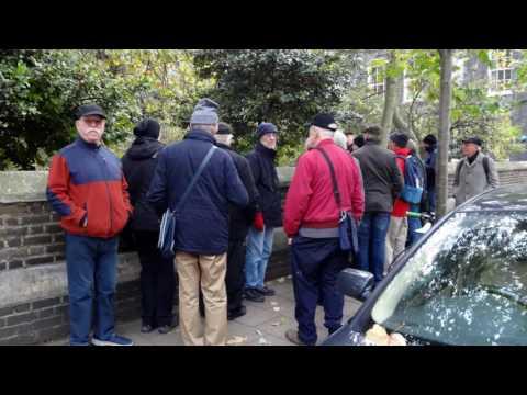 Men's November Walking Group: Bloomsbury