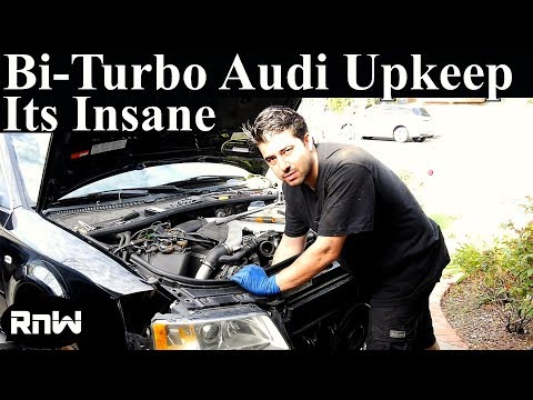 Crazy Bi-Turbo Audi Maintenance Procedures – Camshaft Seal and Gasket Replacement