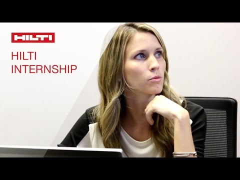 LEARN about our Hilti Internship opportunities in Customer Service - Christine