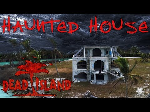 HAUNTED HOUSE ON HAUNTED ISLAND - SCARY OVERNIGHT CHALLENGE
