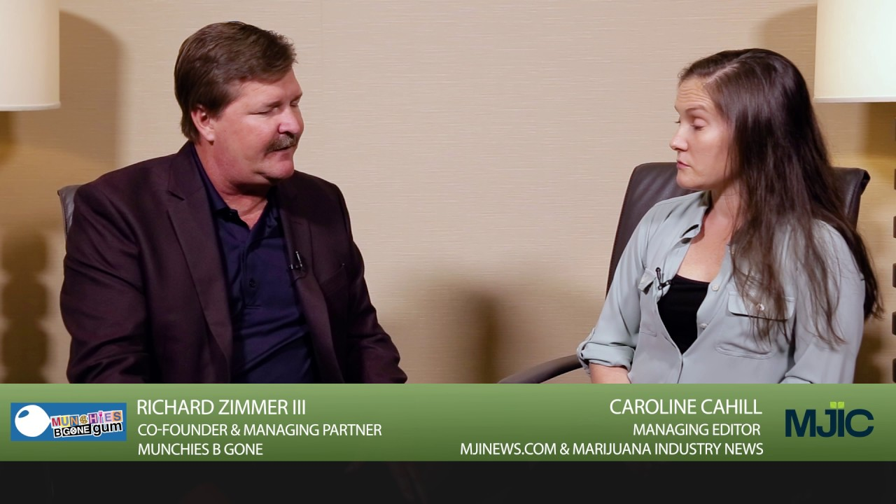 World of Cannabis Summit Interview: Munchies B Gone - Richard Zimmer ...