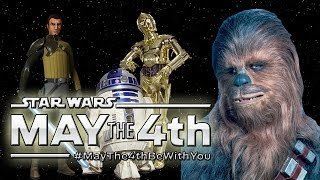 Repeat youtube video Best Star Wars Day Celebrations & Reveals