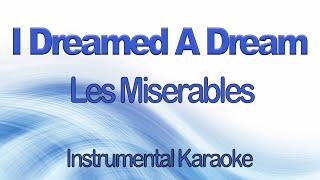 Download Mp3 I Dreamed A Dream From Les Miserables Instrumental Karaoke With Lyrics