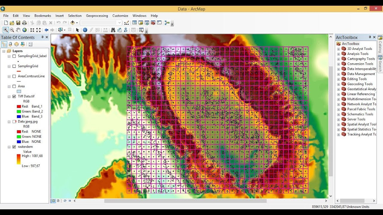 how to export georeferenced map Geotiff from ArcGIS