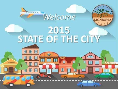 Monrovia State of the City 2015