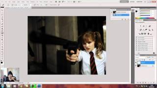 Урок Photoshop 2 - делаем черно-белое изображение(В этом уроке я показываю два способа, при помощи которых можно сделать изображение черно-белым. Уроки фотош..., 2011-09-26T10:17:36.000Z)
