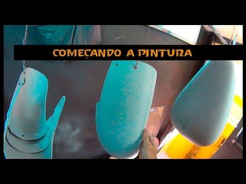 25/07/16 COMEÇANDO A PINTURA DA VIRAGO