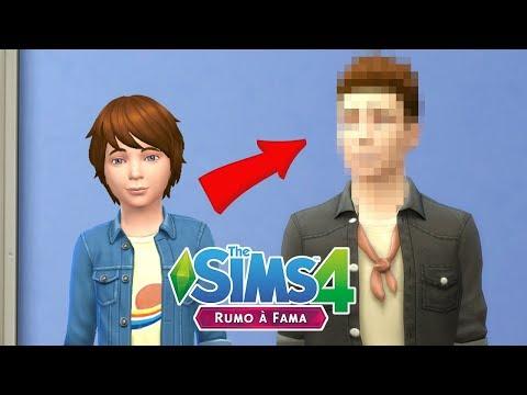 ELE CRESCEU E MUDOU O VISUAL | The Sims 4 Rumo à Fama #22 thumbnail