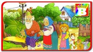 Ridichea uriasa.  Poveste pentru copii in romana.  Desene animate in limba romna.
