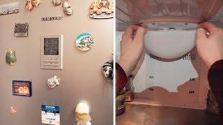 Замена лампочки в холодильнике Samsung