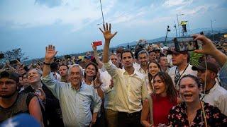 Guaidó, estrella del 'Venezuela Aid Live'