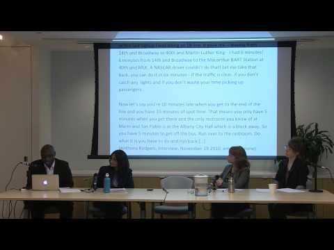 Kafui Attoh, Assitant Professor of Urban Studies, The Murphy Institute, CUNY