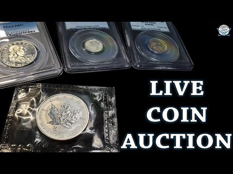 Silver Seeker Coin And Silver Auction LIVE!