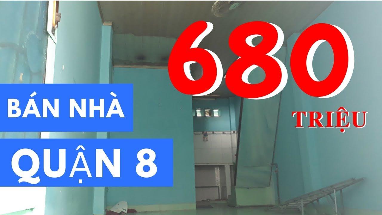 Bán nhà Quận 8 | Giá 680 triệu - DT 3x7m, 1 lầu, đối diện chợ Phạm Thế Hiển, F.4, Quận 8 - ĐÃ BÁN