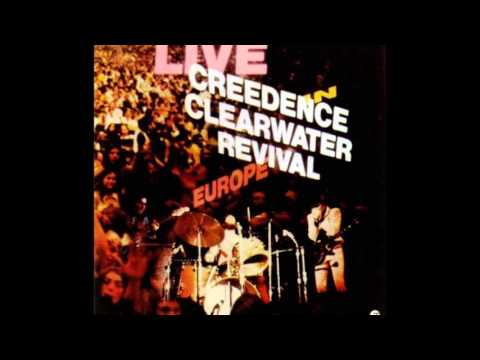 Creedence Clearwater Revival - Sweet Hitch-Hiker (Live in Europe)