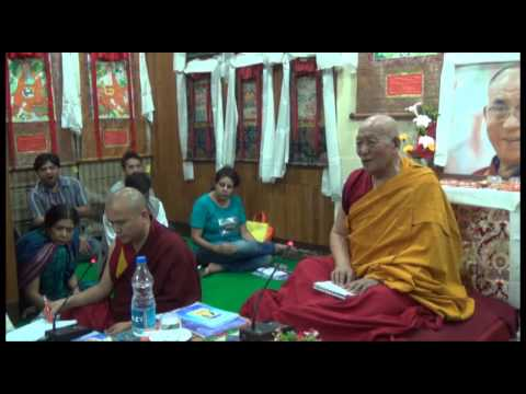 Buddhist Psychology | Ven. Geshe Yeshe Thabkhe la | Day 1 | 23May2014 | Tibet House