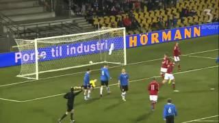 Denmark U21 8 - 0 Estonia U21 | 05-03-2014