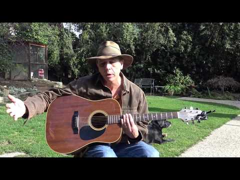 """""""Here Comes The Sun"""", The Beatles, Guitar Lesson by Doug Masnaghetti"""