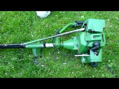 Лодочный мотор из триммера Champion - YouTube