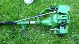Самодельный лодочный мотор весом 6 килограмм (Homemade boat motor)