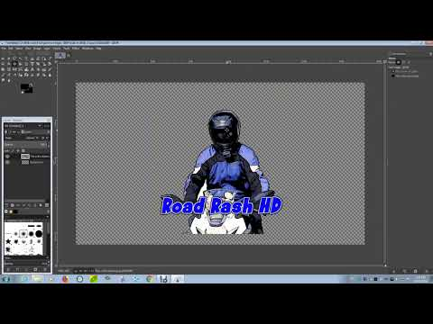 How to make a watermark using your logo for your Youtube videos in Gimp 2.10.8 - 2018 Suzuki GSX250R thumbnail