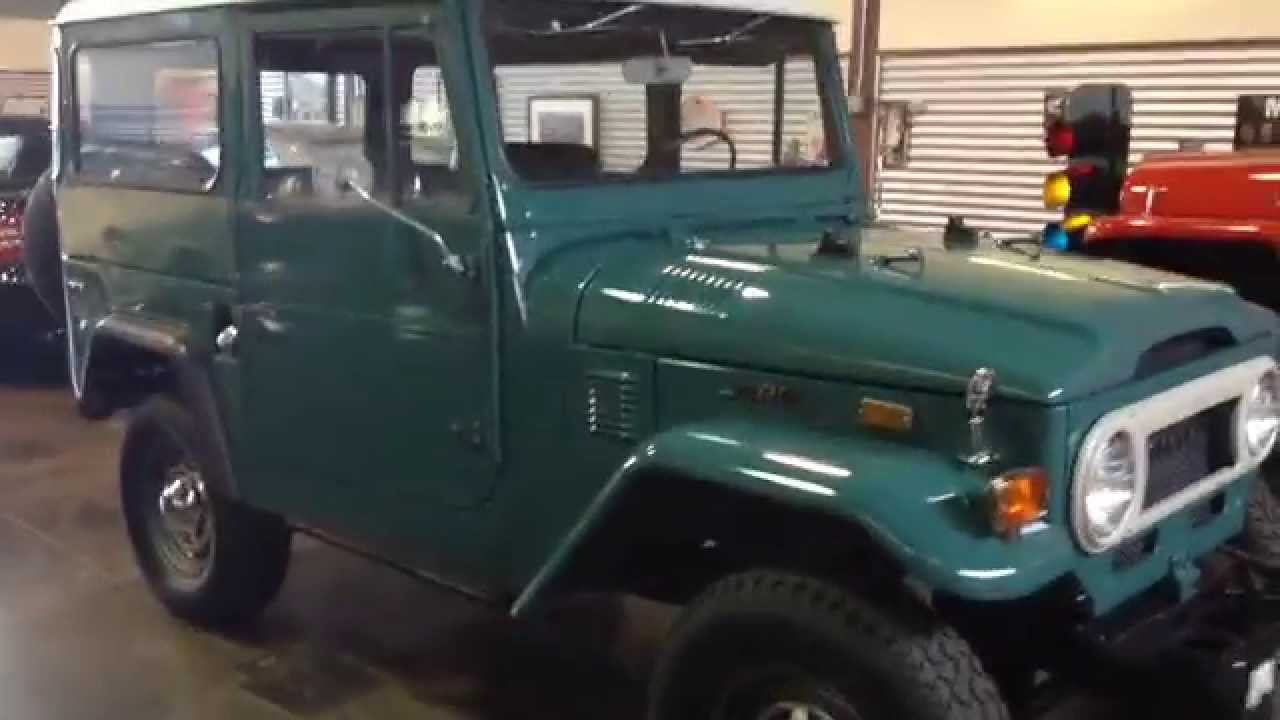 Test Drive 1972 Toyota FJ40 Sold At The Sun Valley Auto Club