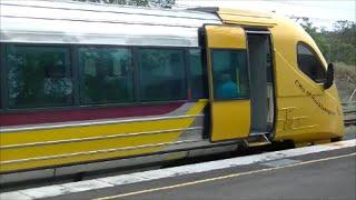 Queensland Rail Electric Tilt Train Business Class Experience