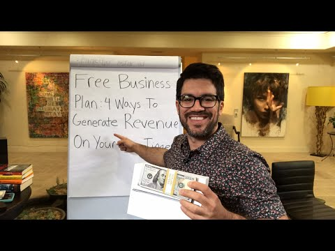 💵 Free Business Plan: 4 Ways To Generate $1k Revenue On Your Own Time 💻 tailopez.com/youragency