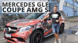 Mercedes GLE Coupe 63S AMG - dziadek ML - iluzjonista