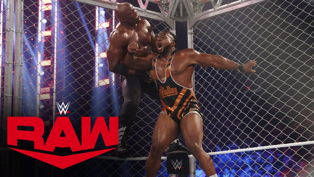 Download Big E targeted by Drew McIntyre after Steel Cage Match against Bobby Lashley: Raw, Sept. 27, 2021