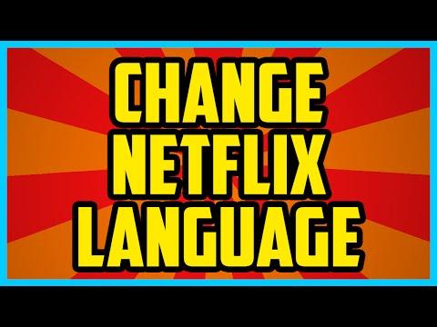 How To Change Language On Netflix 2017 QUICK & EASY  Netflix Change Language Tutorial