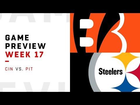 Cincinnati Bengals vs. Pittsburgh Steelers | Week 17 Game Preview | Move the Sticks