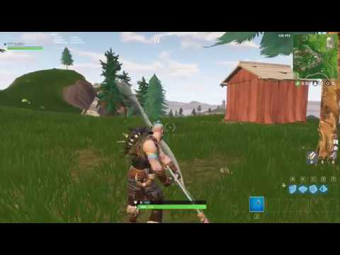 *NEW* STUDDED AXE FORTNITE HARVESTING TOOL SOUNDS (IN GAME)