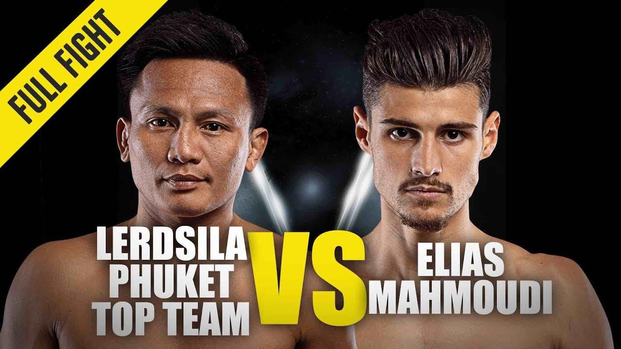 Lerdsila Phuket Top Team vs. Elias Mahmoudi   ONE Full Fight   December 2019