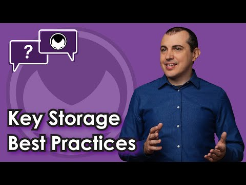 Bitcoin Q&A: Key Storage Best Practices