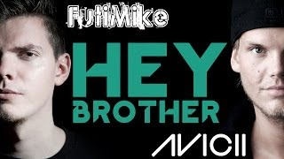 Avicii - Hey Brother w/ lyrics (rock cover by FutiMike)