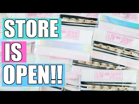 MY STORE IS OPEN!!! SNEAK PEEK OF ALL THE PRODUCTS!