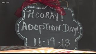 Adoption day in South Carolina courthouses