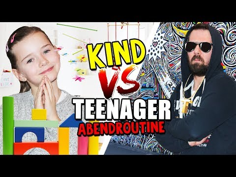 TEENAGER vs. KIND - ABEND ROUTINE - Lulu & Leon - Family and Fun