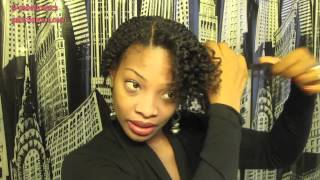 Flat Twists W/ Elasta Qp Olive Oil & Mango Butter | Natural Hair
