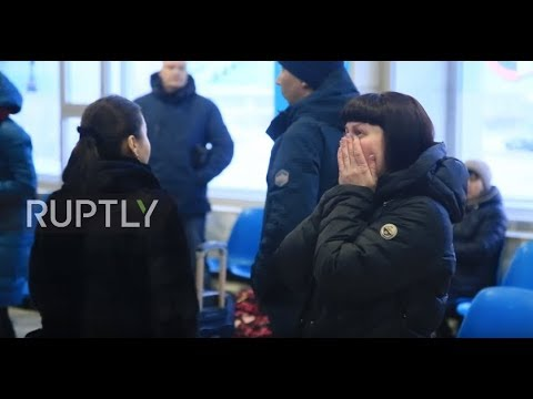 Russia: Relatives of victims left devastated after deadly plane crash