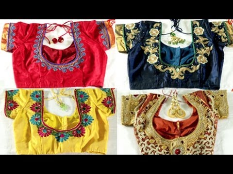 Style File || Latest Blouse Designs & Patterns - YouTube