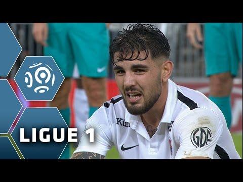 Girondins De Bordeaux - SM Caen (1-4)  - Résumé - (GdB - SMC) / 2015-16