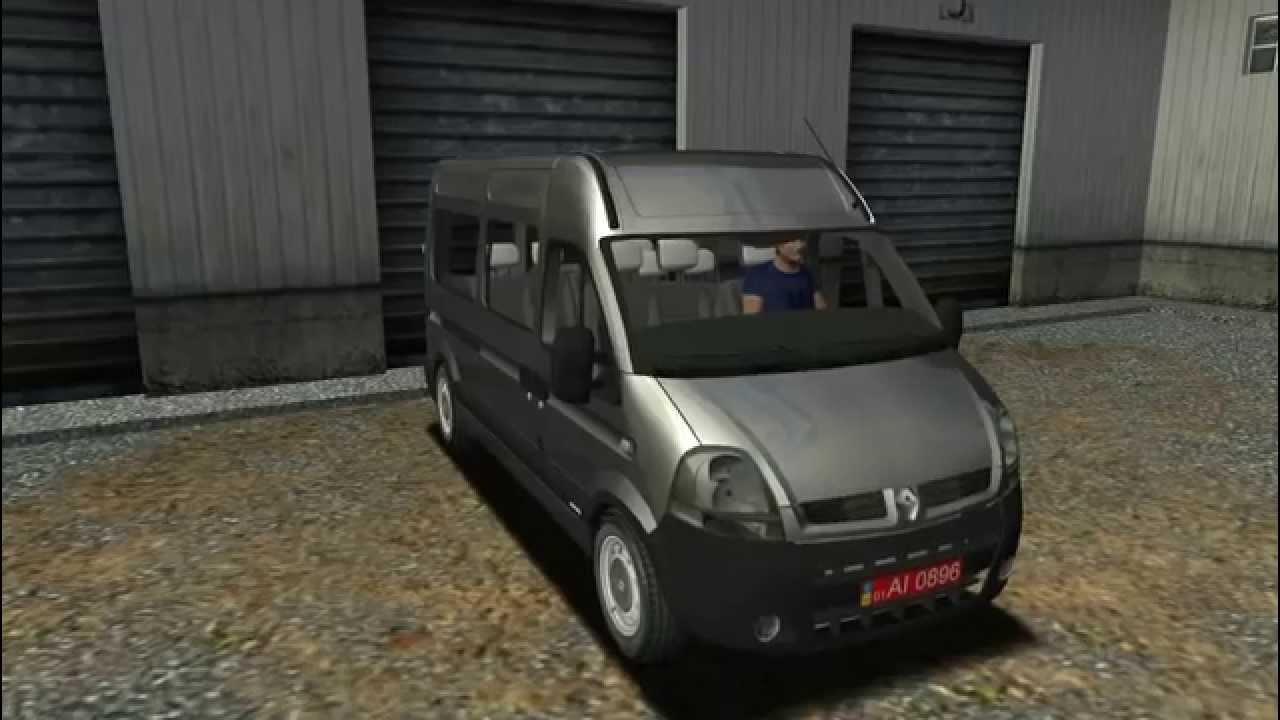 renault master euro truck simulator youtube. Black Bedroom Furniture Sets. Home Design Ideas