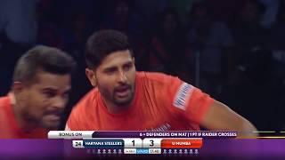 Pro Kabaddi 2018: Haryana Steelers vs U Mumba - Match Highlights [ENGLISH]