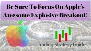 Be Sure To Focus On Apple's Awesome Explosive Breakout! + DISH Network, Bitcoin, & BTC1 Futures